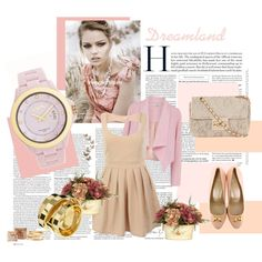 """""""Pinkish"""" by oxette-romania on Polyvore"""