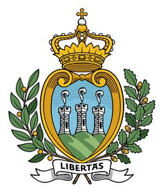 Coat of arms of San Marino                                                                                                                                                                                 More