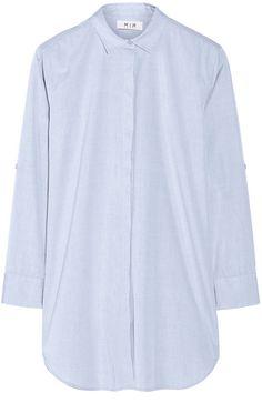 The Oversized Cotton-Poplin Shirt