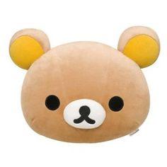 Korilakkuma Mochi L Cushion  http://buyrilakkuma.com/product/korilakkuma-mochi-l-cushion/