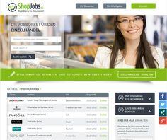 ShopJobs Jobbörse für den Einzelhandel