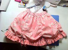 Bustle Skirt 2 3/4 5/6 by vintagetwilight on Etsy