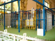 Fabrica de aluminio INALUM – Escala 1:160 « Taller de maquetas Pojimbo