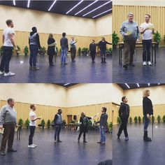 "Operafantomet: phantoming, The Wrld Tour cast rehearsing ""Notes/Prima Donna""..."