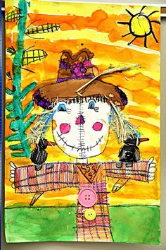 smART Class: Search results for kindergarten Fall Art Projects, Classroom Art Projects, Art Classroom, Kindergarten Art Lessons, Art Lessons Elementary, First Grade Art, First Art, October Art, Theme Halloween