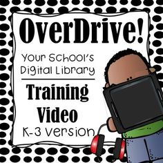 Get Your Reading into OverDrive! OverDrive is a fantastic digital library for students of all ages. If you have OverDrive in your school, this 17 minute, high-definition training video is a quick, easy, and effective way to teach your students how to use OverDrive.