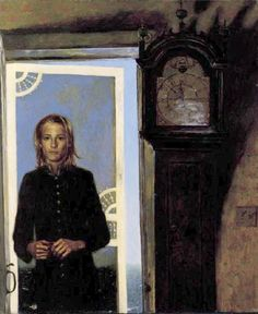 James Wyeth, Screen Door to the Sea, 1994.  Farnsworth Museum
