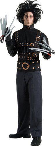 ADULT MENS EDWARD SCISSORHANDS HALLOWEEN FANCY DRESS COSTUME - STANDARD @ £29.99