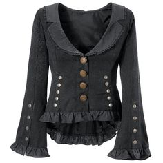 Steam Age Jacket - Women's Clothing & Symbolic Jewelry – Sexy, Fantasy, Romantic Fashions