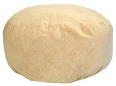 5-Feet comfort cloud foam filled bean bag is super soft, comfortable and will last for years to come. Camel faux suede cover features easy spot clean maintenance. Designed to individually conform to each person and provides the ultimate in comfort and relaxation. Suitable for all ages. The 5-feet comfort cloud bean bag can accommodate more than one person when lying flat; rotated 90 degrees, it acts like a large comfy-chair...