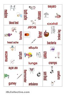 Ilness and health puzzle 2