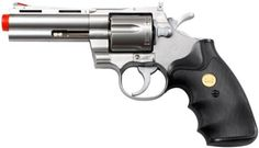 """TSD Tactical UG138SR TSD/UHC 138 Gas Revolver 4 Inch barrel Green Gas Power by TSD Tactical. $42.95. TSD/UHC 138 Gas Revolver 4\"""" barrel Green Gas Power with 6 BB shells. Silver finish and black grip. Shells: MUA937/8 280-310 FPS with .20g BBsLegal Disclaimer Restrictions: You must be 18 or older to order this product. In some areas state and local laws further restrict or prohibit the sale and possession of this product. In ordering this product you certify that you are at l..."""