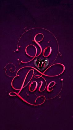 So in love Valentine's Day Love You Hubby, Dont Love Me, Love You More Than, Cute Love, Amazing Husband, Heart Art, Love Heart, Peace And Love, Heart Wallpaper