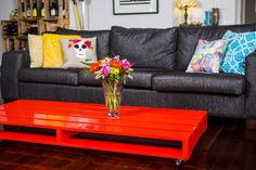 Pallet style coffee table - made to order