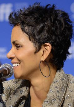 halle berry hair - Google Search