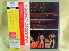 CD/Japan- JACKSON 5 In Japan w/OBI RARE MINI-LP Gatefold Cover SHM-CD Live 1973 #FunkMotownSoul