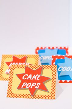 Superhero Boys Party  DIY printable Editable Food by LePetitPartie, $5.99 for food labels...?