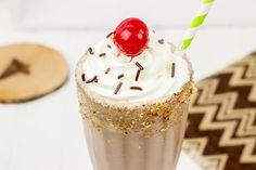 Classic Chocolate Malted Milkshake