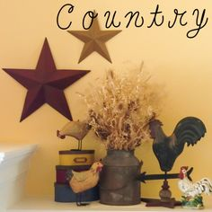 Country vignettes...