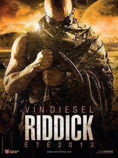 'RIDDICK' (2013), POSTER INTERNACIONAL