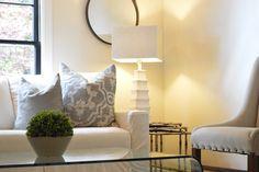 Transitional Living Room by Caroline Dilbeck of Organize Nashville