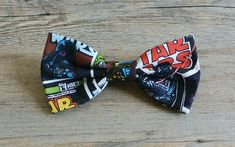 Star Wars Star Wars Bow Star Wars Hair Bow Star Wars by rougebox Barrette Clip, Bow Hair Clips, Hair Bows, Dapper Day Disneyland, Kids Bow Ties, Toddler Bows, Bow Design, Star Wars, Stars