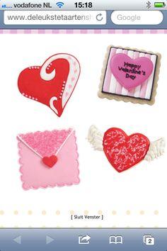 Valentijn cookies