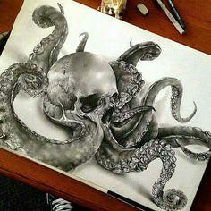 Octoskull by Jamie Watson                                                                                                                                                                                 More