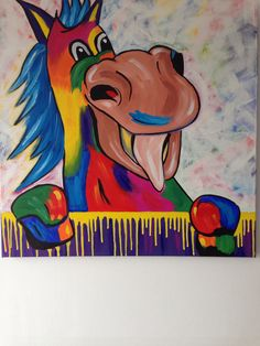 Bont paard