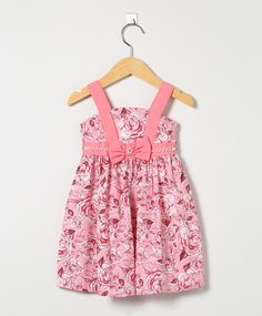 Vestido Floral Rosa e Bordô
