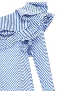 Anastasia One Shoulder Top by JOHANNA ORTIZ Now Available on Moda Operandi