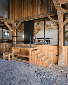 LANDHAUS / Thomas Kroger Architekt – nowoczesna STODOŁA   wnętrza & DESIGN   projekty DOMÓW   dom STODOŁA