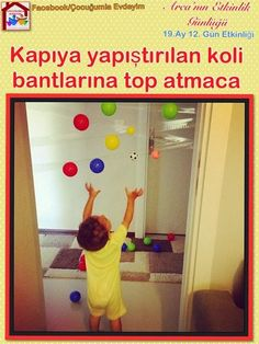 Konuk Yazar: Çocuğumla Evdeyim sayfasının sahibi çocuk gelişimi uzmanı Ö. Montessori Toddler, Montessori Activities, Infant Activities, Baby Games, Fun Games, Games For Kids, Gross Motor Activities, Activities For Kids, Baby Play