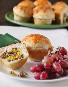 Stuffed Breakfast Biscuits, First Street, Main Dish, Breakfast, Recipe