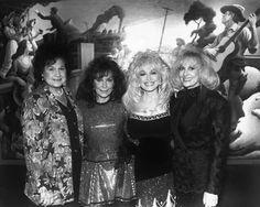 """""""Dolly Parton with Kitty Wells, Loretta Lynn, and Tammy Wynette """""""