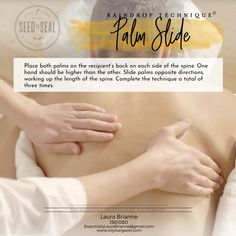 Helpful Aromatherapy Massage Techniques For raindrop massage kit Essential Oils For Massage, Therapeutic Grade Essential Oils, Essential Oil Blends, Massage Treatment, Young Living Oils, Young Living Essential Oils, Raindrop Technique, How To Calm Nerves, Essential Oils