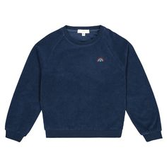 Sweater met ronde hals in badstof 3-12 jaar marineblauw La Redoute Collections | La Redoute Sweatshirts, Sweaters, Clothes, Collection, Girls, Products, Fashion, Sweatshirt, Crew Neck