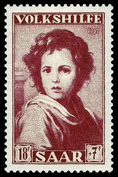 Saar 1952 339 Bartolomé Esteban Murillo - Der göttliche Schäfer, Detail