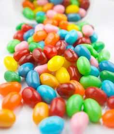 jelly beans - not real food but...