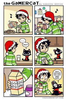 the GaMERCaT :: Nogger | Tapastic Comics - image 1