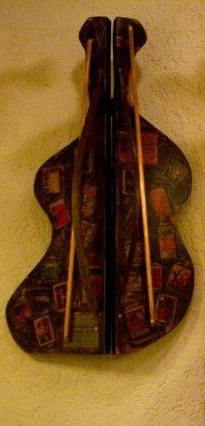 """""""Contrabass""""  Artist: Andrei Cornea Collage, Wood, Artist, Collages, Woodwind Instrument, Timber Wood, Artists, Collage Art, Trees"""