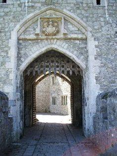 St. Donat's Castle entrance
