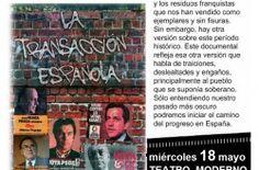 """EL CINECLUB ALCARREÑO PRESENTA EN EL TEATRO MODERNO EL DOCUMENTAL  """"LA TRANSACCIÓN ESPAÑOLA"""" - http://www.mipuntomap.com/el-cineclub-alcarreno-presenta-en-el-teatro-moderno-el-documental-la-transaccion-espanola/"""
