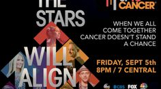 Stars align and Stand Up to Cancer