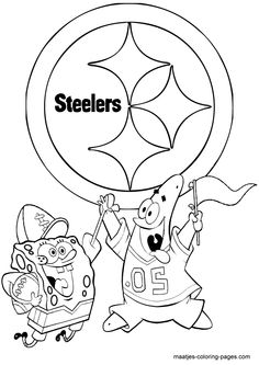 steelers logo coloring page - 1000 images about pittsburgh steelers on pinterest