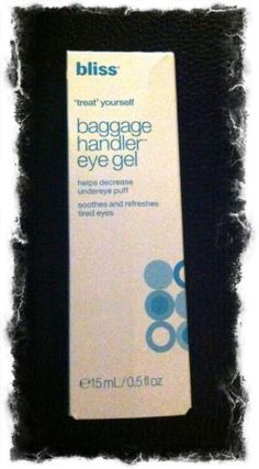 Bliss Baggage Handler Eye Gel