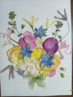 結婚式後のブーケの保存  アフターブーケと自分でドライフラワーにの画像:一会 ウエディングの花