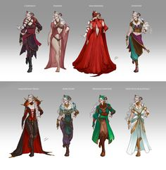 Inquisitor Adaar's Wardrobe by LiberLibelula on DeviantArt <---- I wish we had gotten better wardrobes
