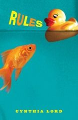 Rules by Cynthia Lord.  Great for a discussion of autism and its affects on the family.