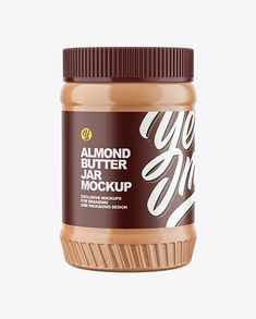 Nut Butter, Almond Butter, Body Butter, Food Packaging, Packaging Design, Pistachio Butter, Seed Storage, Plastic Plastic, Jar Labels